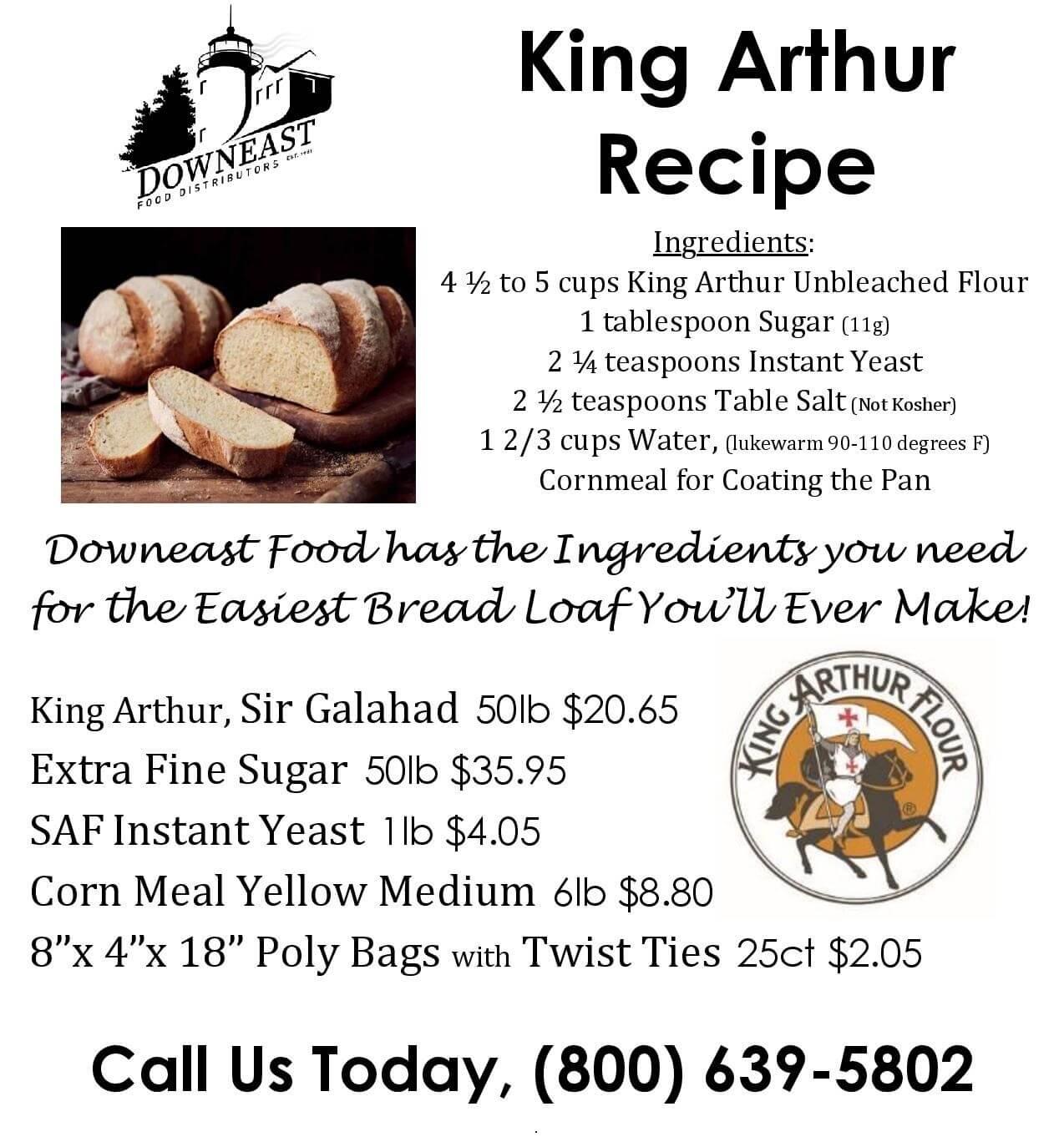 King Arthur Recipe